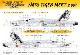 SE2848 EF-18M Hornet NATO Tiger Meet 2007