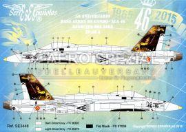 SE3448 EF-18A+ Hornet 50 Jahre Ala 46