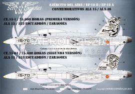 SE1172 EF-18A/B Hornet Sondermarkierungen