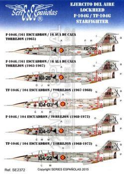 SE2372 F/TF-104G Starfighter spanische Luftwaffe