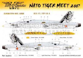 SE2872 EF-18M Hornet NATO Tiger Meet 2007