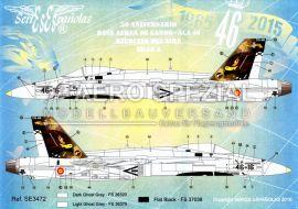 SE3472 EF-18A+ Hornet 50 Jahre Ala 46