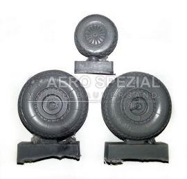 AMS32129 Ar 234 Blitz gewichtsbelastete Räder (Rautenprofil)