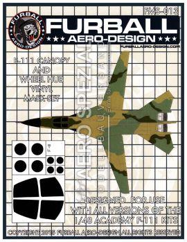 FMS4813 F-111 Aardvark Maskierfolie