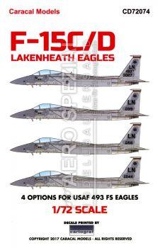 CD72074 F-15C/D Eagle USAFE Lakenheath