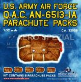 MD32059 Q.A.C. AN-6513-IA Fallschirmpack U.S.A.A.F