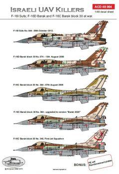 ACD48004 F-16 Barak/Sufa israelische Luftwaffe