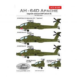 ACD48009 AH-64D Apache U.S. Army