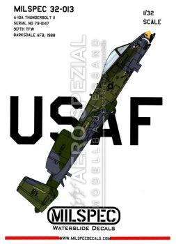 CMS3213 A-10A Thunderbolt II 917th TFW
