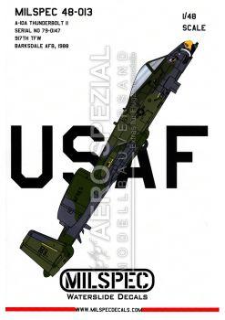 CMS4813 A-10A Thunderbolt II 917th TFW