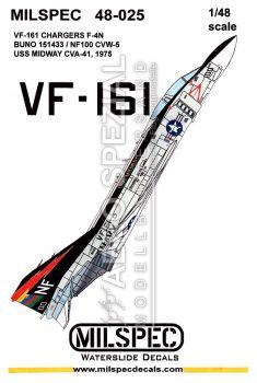 CMS4825 F-4N Phantom II VF-161 Chargers