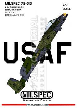 CMS7213 A-10A Thunderbolt II 917th TFW