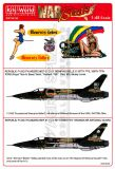 KW48162 F-105D Thunderchief: Memphis Belle II & My Honeypot