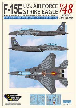 DXM48029 F-15E Strike Eagle 4th Fighter Wing Jubiläum