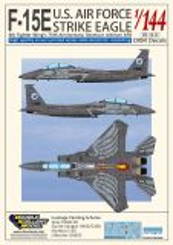 DXM14011 F-15E Strike Eagle Anniversary 4th Fighter Wing