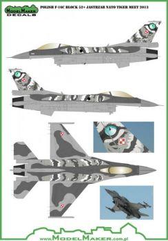 MOD72031 F-16C/D Block 52+ Fighting Falcon NATO Tiger Meet 2014