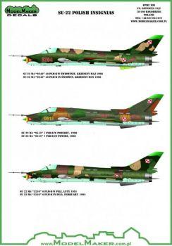 MOD72082 Su-22 Fitter Codes Polish Air Force