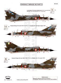 BD32054 Mirage IIIE Teil 2