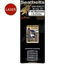 HG132594 P-40 Warhawk Seat Belts