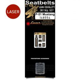 HG148554 P-51 Mustang Seat Belts