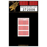 HG272006 Remove before Flight Tags (US)
