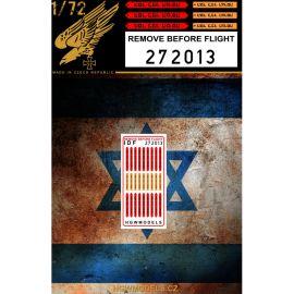 HG272013 Remove before Flight Tags (Israel)