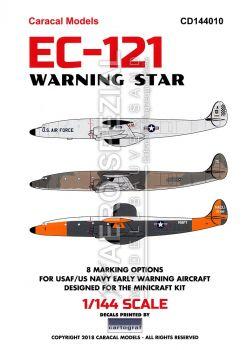 CD144010 EC-121 Warning Star