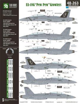 TB48263 EA-18G Growler VAQ-209 Star Warriors