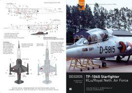 DD32035 TF-104G Starfighter, niederländische Luftwaffe