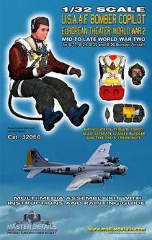 MD32060 Bomber Copilot U.S.A.A.F. WK II