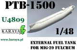 KYU4809 MiG-29 Fulcrum PTB-1500 Zusatztank