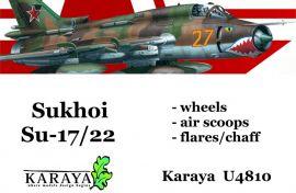KYU4810 Su-17/22 Fitter Außendetails-Set