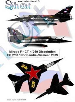 SY72056 Mirage F1CT Sonderanstrich EC2/30
