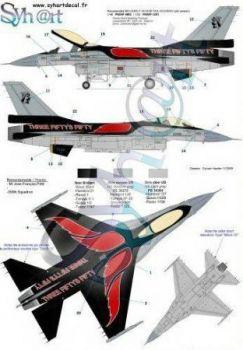 SY72057 F-16A Fighting Falcon Sonderanstrich No. 350 Sqn