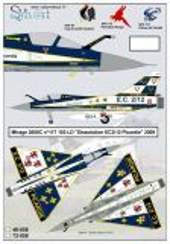 SY72058 Mirage 2000C Sonderanstrich EC2/12