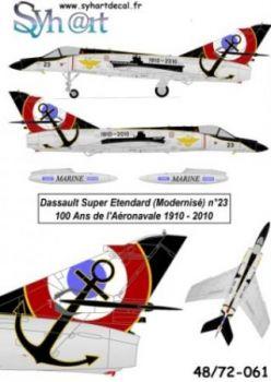 SY72061 Super Etendard 100 Jahre Marineflieger 1910-2010