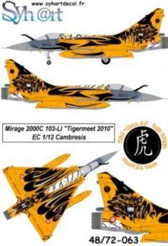 SY72063 Mirage 2000C NATO Tiger Meet 2010