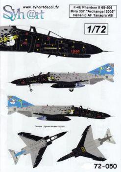 SY72050 F-4E Phantom II Air Show Archangel 2005, Griechenland