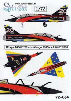 SY72064 Mirage 2000N Anniversary Finish EC1/4 Dauphine