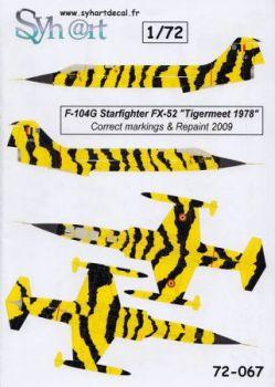 SY72067 F-104G Starfighter Tiger Meet 1978/2009