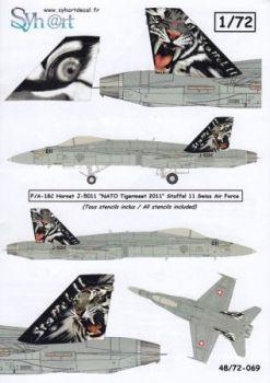 SY72069 F/A-18C Hornet NATO Tiger Meet 2011