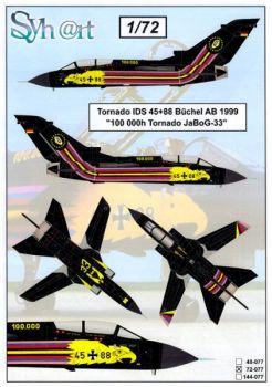 SY72077 Tornado IDS Sonderanstrich 100.000 Flugstunden JaboG 33