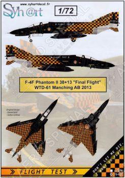 SY72078 F-4F Phantom II letzter Flug WTD 61