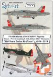 SY72080 F/A-18C Hornet, P-51D Mustang & MS.406 (D-3801) AIR 14 Payerne
