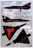 SY72086 Mirage IIIRD Special Finish 90,000 Flight Hours