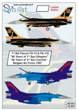 SY72101 F-16A Fighting Falcon No. 1 & No. 2 Sqn belgische Luftwaffe