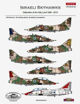ACD48023 A-4 Skyhawk israelische Luftwaffe