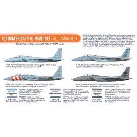HTKCS43 F-15 Eagle U.S. Air Force (alle Varianten)