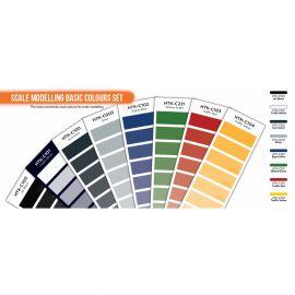 HTKCS100 Grundfarben-Set