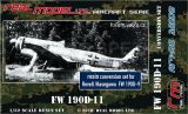 RMA3209 Fw 190 D-11 Umbausatz